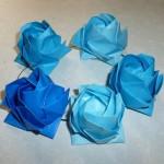 折り紙で花冠!バラの折り方を福山ローズで!簡単に作る方法も