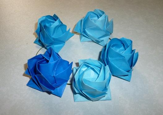 ハート 折り紙 折り紙 立体 バラ : pleasantdays.info