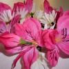 花冠の作り方は簡単です!造花は100均で!ヘアアレンジどうする?