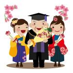 卒業式で袴を着る時の着物の種類は?袖丈は?ルールはあるの?