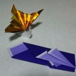 お正月の箸袋の折り方 折り紙で箸置きも折ってお祝いらしく!