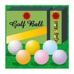 ゴルフボールのカラーは季節で変える?冬の色は?目立つ色は?