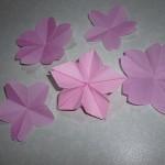 桜の折り紙の作り方 簡単なものや切り紙、難しい物ものなど