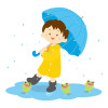 雨の日の子供の送り迎えどうしよう!自転車では?布団は?