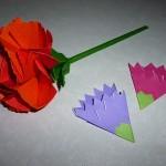 折り紙で母の日のカーネーション 折り方や立体的な花束も!